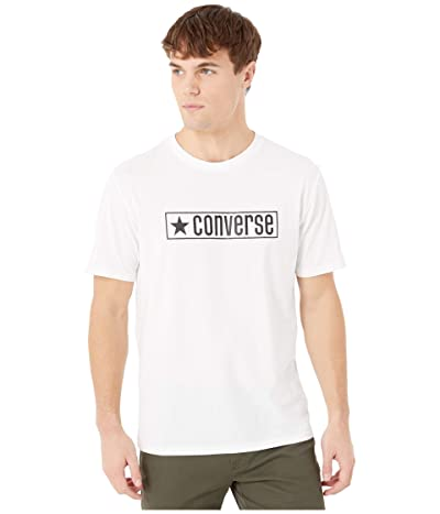Converse Wordmark Tee (White) Men