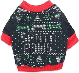 DroolingDog Pet Dog Christmas Shirt Puppy T-Shirt Xmas Dogs Shirts Christmas Clothes for Small Dogs, XS