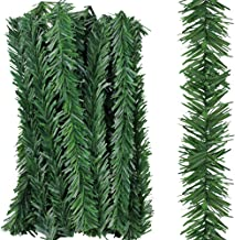 Supla 36 Pcs Artificial Christmas Wired Pine Garland Ties Faux Pine Greenery Stems Decorative Garland Twist Ties 12