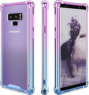 SANKMI Samsung Galaxy Note 9 Case,Clear Note 9 Case Shockproof TPU Bumper Cases Non Slip Scratch Resistant PC Hard Back Pr...