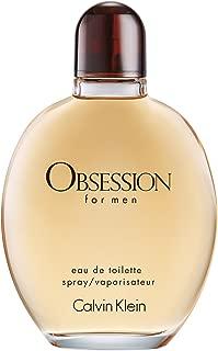 Calvin Klein OBSESSION for Men Eau de Toilette, 2.5 Fl Oz