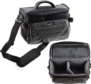 Navitech Szara torba na aparat na ramię kompatybilna z Fujifilm X-S10 lustrzany aparat cyfrowy