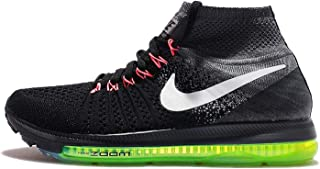 Women's Zoom All Out Flyknit, Black/Cool Grey/Volt/White, 8