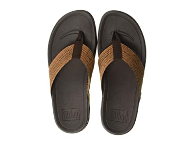FitFlop Surfer Freshweave (Chocolate Brown Microwobbleboard) Men