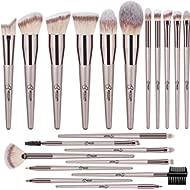 BESTOPE 20 PCs Makeup Brushes Premium Synthetic Concealers Foundation Powder Eye Shadows Makeup...