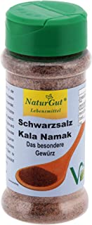 Sal negra, Kala Namak, tierra en Esparcidor de 120 g