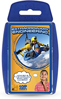 Extraordinary Engineering Top Trumps STEM Card Game