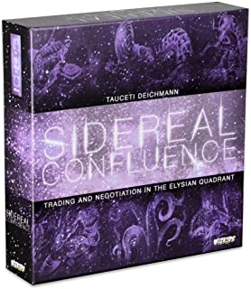 WizKids Sidereal Confluence : Trading and Negotiation in The Elysian Quadrant Game