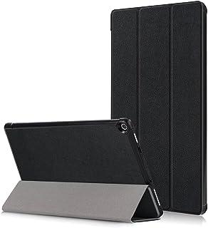 Asng New Fire HD 10 ケース New Fire HD 10 カバー 2017モデル 三つ折スタンドカバー 極薄型 (ブラック)