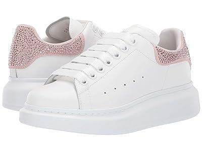 Alexander McQueen Oversized Sneaker (White/Peonia/Peonia) Women