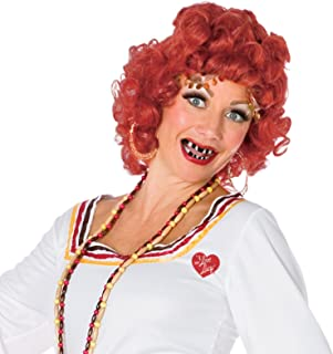 I Love Lucy Queen of The Gypsies Wig Red