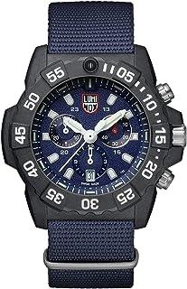 ساعة لومينكس Navy Seal 3580 سيريس زرقاء بسوار قماشي للرجال XS3583ND