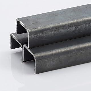 Quadrangolare TUBO QUADRATO ACCIAIO TUBO TUBO profilo tubo di acciaio 50x50x3 da 1000-2000mm