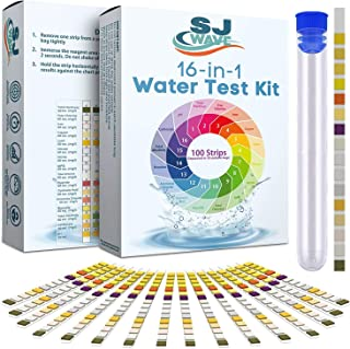 16 in 1 Drinking Water Test Kit | Water Test Strips for Aquarium, Pool, Spa, Well & Tap Water | High Sensitivity Test Stri...