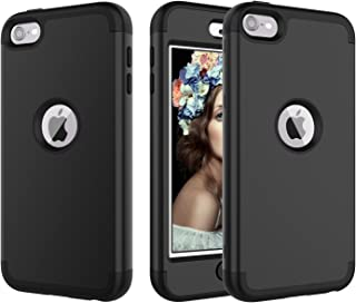 iPod Touch 6 Case, iPod Touch 5 Case, UZER 3 in 1 Soft Interior Silicone Bumper&Hard Shell PC Back Cover Bumper Shock-Absorption & Skid-proof Protective Case for Apple iPod Touch 6th/5th Generation