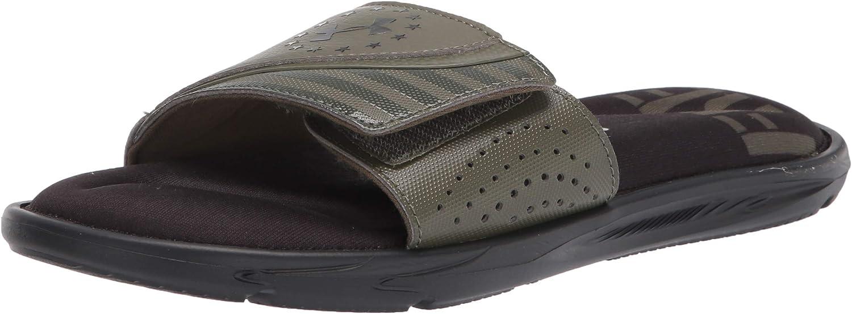 Under Genuine Armour Men's Ignite Sandal Max 61% OFF Slide Freedom