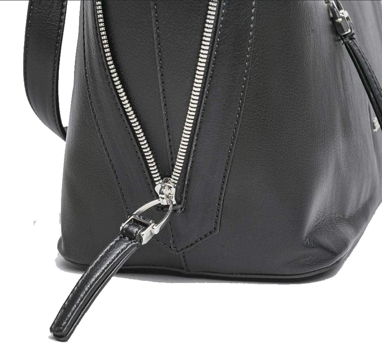 NeroGiardini IO48016D Sac à main pour femme en cuir synthétique Noir Nero