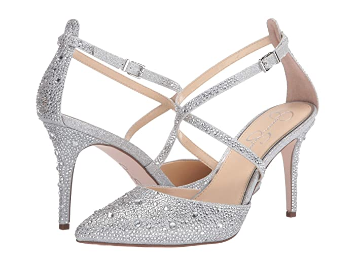 Jessica Simpson  Ambrie 2 (Silver) Womens Shoes