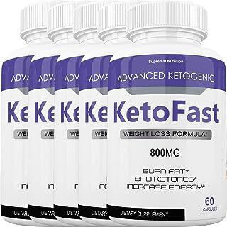 Keto Fast Diet Pills - Advanced Ketogenic Weight Loss Burn KetoFast - Burn Stubborn Fat - Energy & Focus - Suppress Appeti...