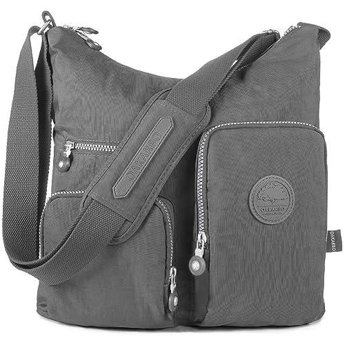 Oakarbo Nylon Multi-Pocket Crossbody Bag f4485d1d3ae43
