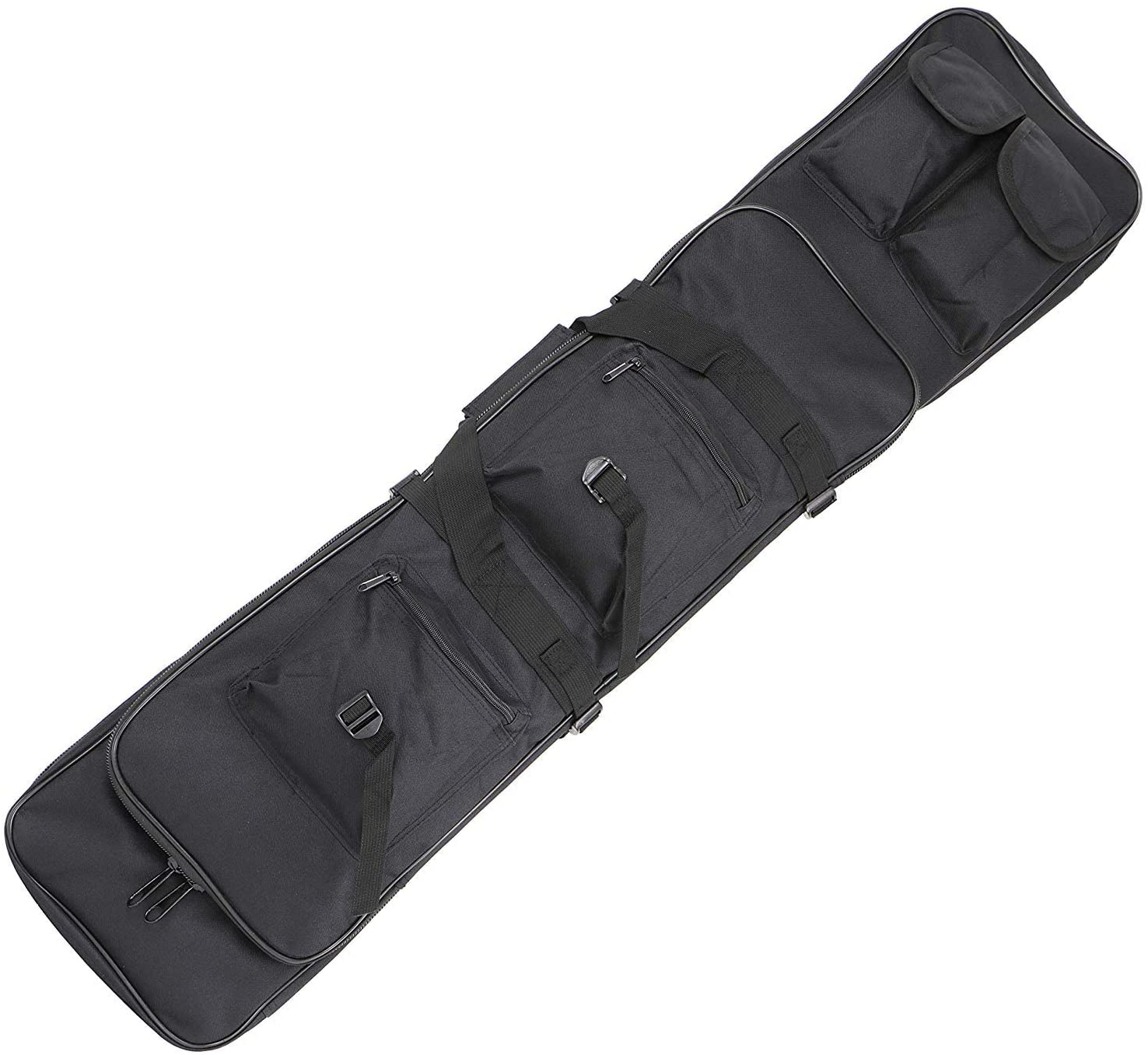 Sutekus Tactical Double Max 79% OFF Gun Case Rifle Cheap mail order specialty store Padded Stora