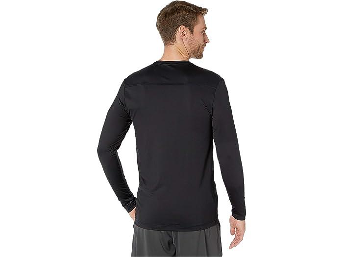 2(x)ist Henley De Manga Larga Sterling Speed Dri Black Shirts & Tops