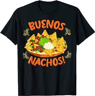 Buenos Nachos Cheese Funny Spanish Puns Vintage Joke T-Shirt
