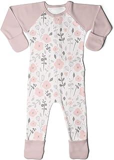 Baby Footie Pajamas, Organic & Adjustable