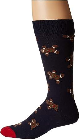 Gingerbread Man Sock