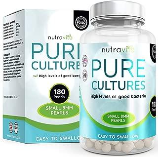 Probiotiques Triple Force - Economique et très efficace - Cure de 3 mois - CFU 2 Milliards par capsule - 180 Capsules Gel Sans OGM - Fabriqué au Royaume-Uni
