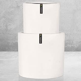 Best pure white ceramic planter Reviews