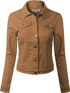 ae558a0c884f Design by Olivia Women's Classic Casual Vintage Denim Jean Jacket/Vest