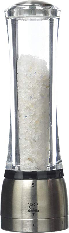 Peugeot 34108 Daman Salt Mill 21cm 8 2 Inch With Persian Blue Salt