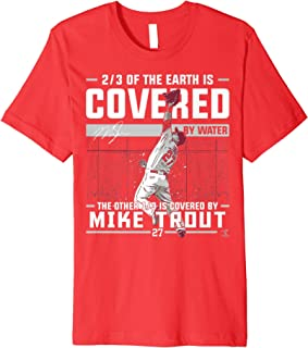 Mike Trout Covered By T-Shirt - Apparel