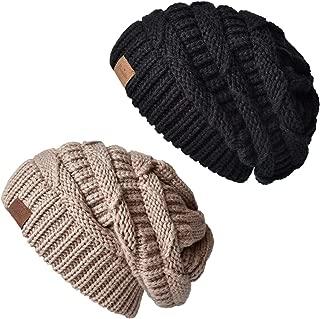 ENJOYFUR Womens Slouchy Beanie Hat Lady's Winter Warm Wool Hat