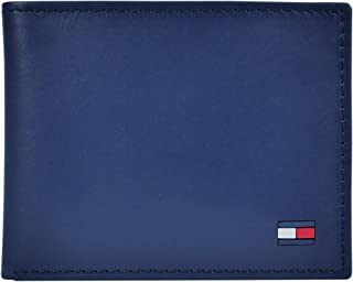 Men's Leather Wallet – Slim Bifold with 6 Credit Card...
