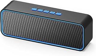 $100 » Odekai Bluetooth Speaker, Portable Wireless Speakers, IPX7 Waterproof, Double Horn HD Loud Stereo Sound, Bluetooth 5.0, 8 ...
