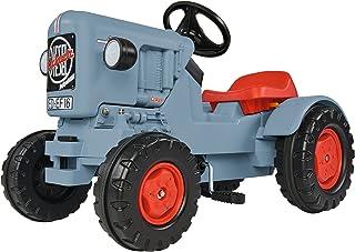 BIG - Traktor Eicher Diesel ED 16 - Trettraktor mit 3-Stufen Sitzverstellung, Kinderfahrzeug mit Präzisionskettenantrieb, Tretfahrzeug für Kinder ab 3 Jahren