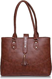 Fristo Women's Handbag (FRB-321_Brown)