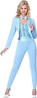 Women's Blue Tuxedo Costume Light Blue Tuxedo Costume