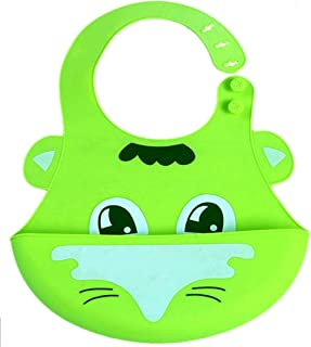 Baby Bib, Waterproof, Washable, Stain and Odor Resistant, 6-24 Months,