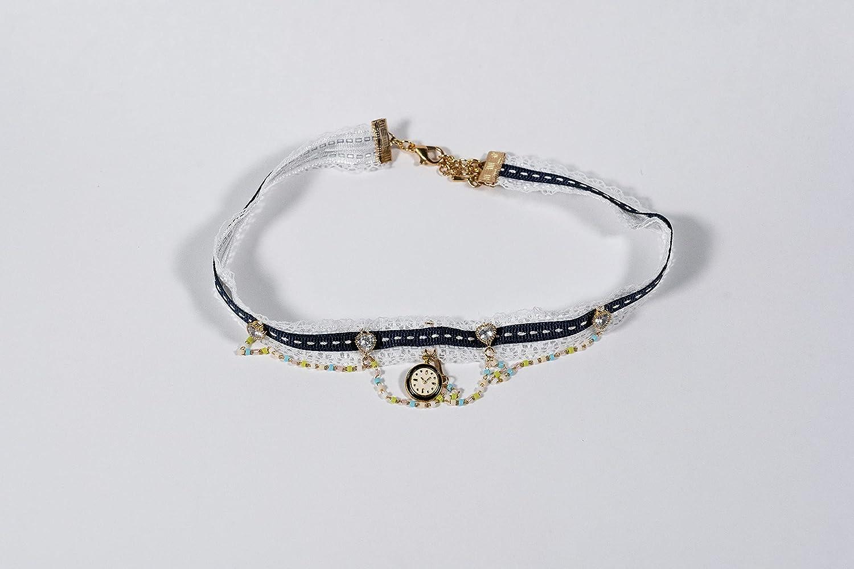 Blue Choker blue Opening large release sale Jewelry choker bl Handmade necklace Super intense SALE