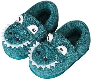 Zapatillas de Estar por Casa para Niñas Niños Invierno Zapatillas Interior Casa Caliente Zapatos Suave Algodón Antidesliza...