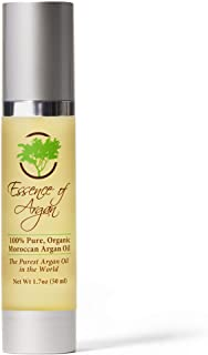 Eco Certified Organic Argan Oil for Skin and Hair by Essence of Argan 50ml (1.70z)