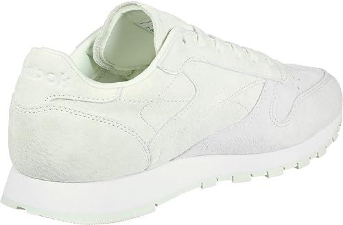 Reebok Cl LTHR NBK, Chaussures de Fitness Femme, gris
