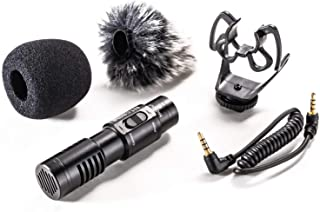 Nicama SGM8 Camera Shotgun Microphone with 1 Deadcat Compatible with iPad iPhone Android Smartphone Recording YouTube Interview, DSLR Cameras Canon Nikon Sony Camcorders Audio Recorders