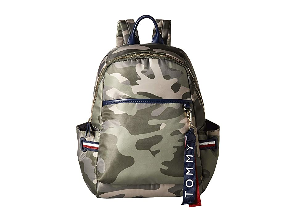 Tommy Hilfiger Shelly Backpack (Green) Backpack Bags