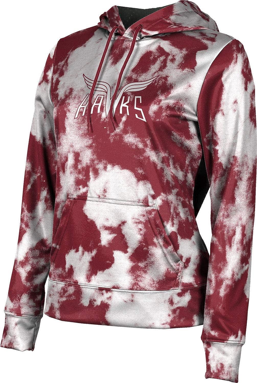 ProSphere Red Oak High School Girls' Pullover Hoodie, School Spirit Sweatshirt (Grunge)