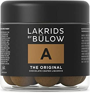 Lakrids by Bülow A- The Original 125g- Danish Confectionery Licorice