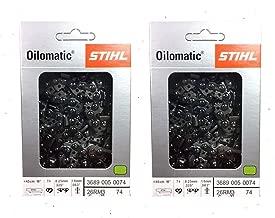 STIHL 26RM3-74 Oilomatic Rapid Micro 3 Saw Chain, 18
